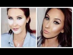 Here is how-to contour, blush, and highlight and bake the face! Everyone has been asking for a tutorial to learn how to do some of the basis, so here is how ...