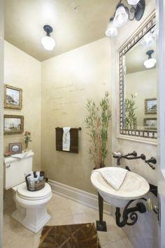 interesting vintage style bathroom