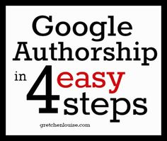 Google Authorship in 4 easy steps