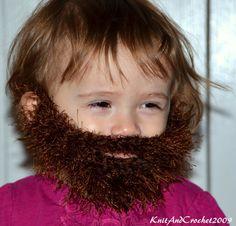 Newborn Beard Baby Beard Knitted Baby Beard by KnitAndCrochet2009, $17.00 etsy