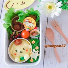 おはようございます(*ˊૢᵕˋૢ*) 今日のお弁当は〜 #ポムポムプリン ちゃんお弁当です🍮♡ 明日からテスト→と〜っても短い夏休み→実習で8月はお弁当お休みになるので、今日は大好きなプリンちゃんで締めくくりました〜✨ . それでは皆様今日も楽しい一日をお過ごしください(๑ˇεˇ๑)•*¨*•.¸¸♪ . . . #手作り#キャラフード#キャラ弁#サンリオ#おうちごはん#ママリ#クッキングラム#デリスタグラマー#lin_stagrammer #instafood #cutefood #characterfood #kyaraben #kyarafood #kawaiifood #foodart #funfood #fooddeco #pompompurin #sanrio #lunch #bento #お弁当 #弁当