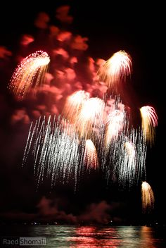 4th of July Fireworks by Raed Shomali