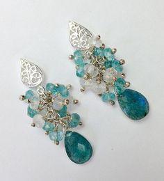 Swiss Suisse Switzerland Bead Flag Earrings - Handmade Bead Work Jewellery CelQC