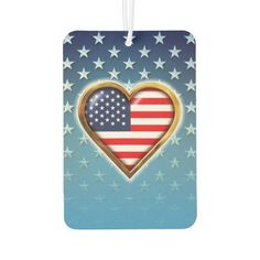 American Heart Car Air Freshener