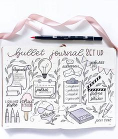 How to start a bullet journal? Here are some tips by ig@bujotrulla. | Bullet journaling ideas
