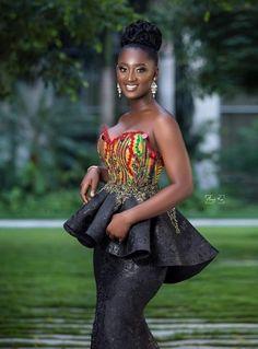 African Wedding Dress, African Fashion Ankara, Latest African Fashion Dresses, African Dresses For Women, African Print Dresses, African Print Fashion, Africa Fashion, Tribal Fashion, African Attire