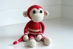 My Little Monkey crochet pattern by LisaMareeCreations on Etsy, $7.00