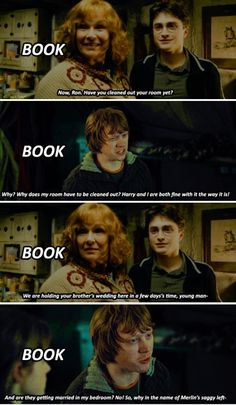 Harry Potter - book quotes