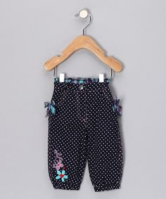Violet Polka Dot Pants