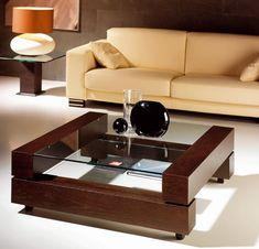 18 Awesome Homemade Sofa Ideas You Can Try Centre Table Design, Tea Table Design, Wood Table Design, Centre Table Living Room, Center Table, Sofa Design, Table Furniture, Furniture Design, Homemade Sofa