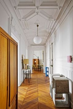 8 Inspiring French Interiors   Apartment Therapy