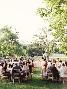 Backyard garden wedding in Northern California: http://www.stylemepretty.com/2014/07/18/backyard-garden-wedding-in-northern-california/ | Photography: http://www.lauragordonphotography.com/