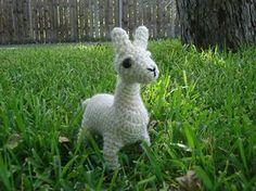 Amigurumi Llama Free Pattern