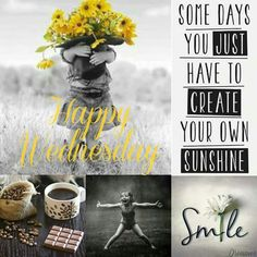 Wednesday Greetings, Happy Wednesday Quotes, Wednesday Humor, Days Of Week, Months In A Year, Happy Week, Happy Sunday, Good Morning Good Night, Good Morning Quotes