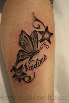 tattoos am fu schmetterling tattoo attraktiv ich. Black Bedroom Furniture Sets. Home Design Ideas