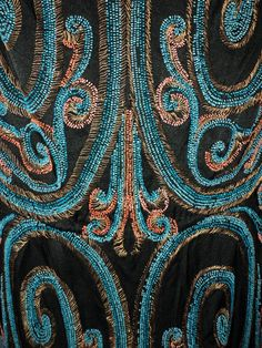 Callot Soeurs Original 1920s Beaded Dress Museum Quality Amazing Rare Collectible Art Deco Period