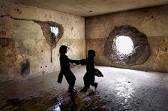 Afghan children by Lana Šlezić