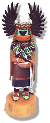kachinas | Crow Mother - mother of all Kachinas (Angwusnasomtaka by Malcolm ...