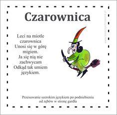 Gimnastyka buzi i języka – karty   Brzeczychrzaszcz — blog logopedyczny Polish Language, Kids Playing, Easy Diy Crafts, Kindergarten, Education, Scrapbook, Blog, Speech Language Therapy, Boys Playing