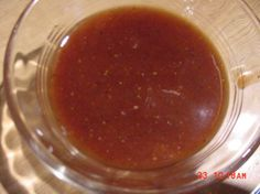 Very Quick BBQ Sauce: Added some liquid smoke and this was fantastic! Really easy to make, too.