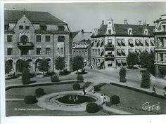 Hamar Jernbaneparken Oppi ca. 1940