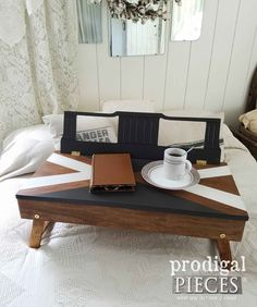 DIY Upcycled Lap Des