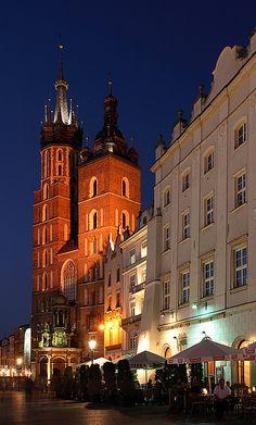 St. Mary's Basilica, Cracow by david.bank (www.david-bank.com), via Flickr