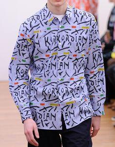 Comme des Garçons Shirt  - Fall 2015