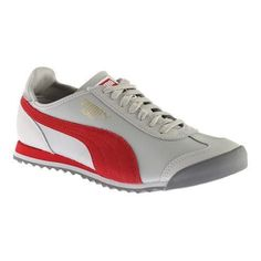 Men's Puma Roma OG 80s Sneaker Gray Violet/Barbados