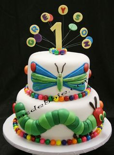 Themed Ideas || Birthday or any occasion - Butterfly and Caterpillar - visit website - can be used in teaching.