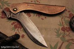 Folding Knife by Serge Pachenko