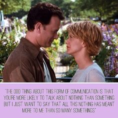 You've Got Mail: such a classic.