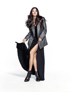 Jun Ji Hyun shows off her footwear by 'SUECOMMA BONNIE'   allkpop.com