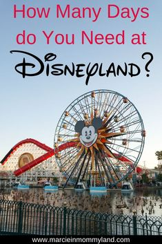 How Many Days to See Disneyland: 3 Exclusive Tips to Choose your Ideal Disneyland Vacation Disneyland Deals, Disneyland Tickets, Disneyland Vacation, Disney Vacations, California Vacation, Disneyland California, Disney California Adventure, California California, Travel With Kids