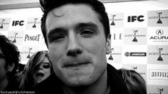 Josh Hutcherson (GIF) Dying... I can't... The way he licks his lips is just AHHHH