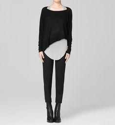 Helmut Lang | Merino Wool Sweaters - Sheer Opaque Sweater