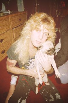 In an interview, Steven Adler once told me he loved no one more than his grandma and his dogs.