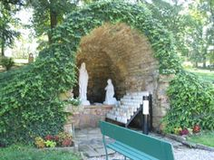 Lourdes Grotto, University of Notre Dame, Indiana