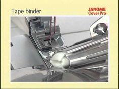 Janome CoverPro - Bandgeleider