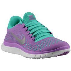 Nike Free Run 3.0 V4 - Women\u0026#39;s - Laser Purple/Reflective Silver/Atomic Teal