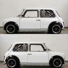 Mini Cooper Tuning, Mini Cooper Sport, Mini Cooper Classic, Cooper Car, Classic Mini, Classic Cars, Fancy Cars, Retro Cars, Mini Driver