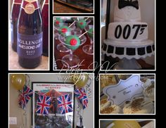 "007 Agent Training / Birthday ""James Bond 007""   Catch My Party"