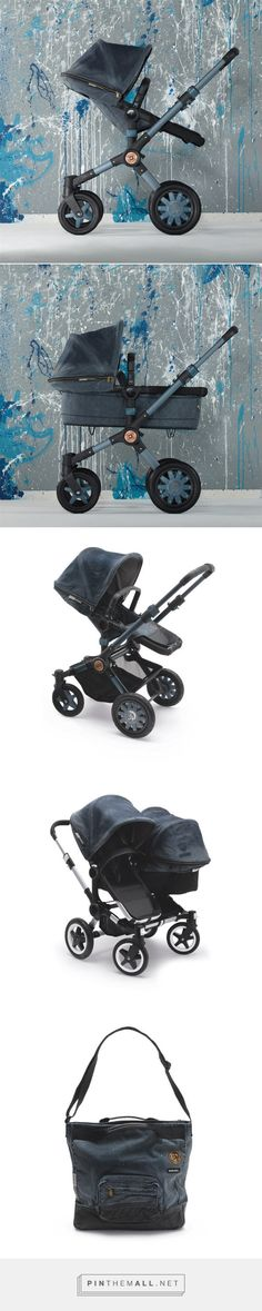 Bugaboo Stroller Diesel Denim Collection - Design Milk - created via http://pinthemall.net