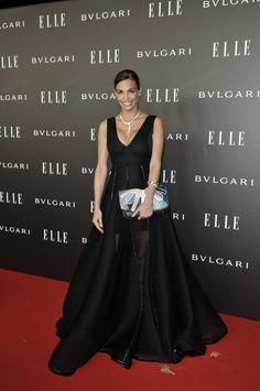 Inés Sastre de Juanjo Oliva  en los ELLE Style Awards 2014