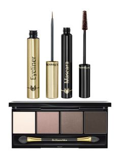 Mascara, Liquid Liner & Eye Shadow Set by Dr. Hauschka #natural green beauty product ideas.