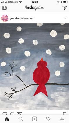 Christmas Fun, Christmas Cards, Bird Theme, Arts Ed, Winter Art, Art Classroom, Art Club, Art Plastique, Elementary Art