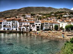 Beautiful Cadaques, Spain - on the Golden Coast just north of Barcelona.  Adorable little fishing town that hasn't been completely overrun by tourists.