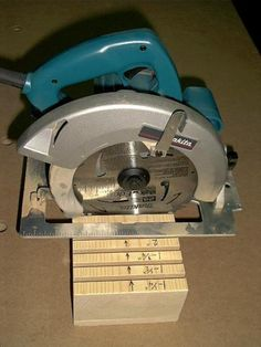 Circular Saw Depth Gauge