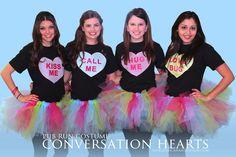 San Antonio's First Friday Pub Run + Conversation Heart Costume