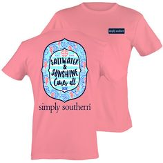 Southern ChicsScrub Wearin Nurse RN LPN CNA RNA Sweet Thing Girlie Bright T Shirt Available in sizes Adult S-2X Picture is of the back of the shirt, Front of